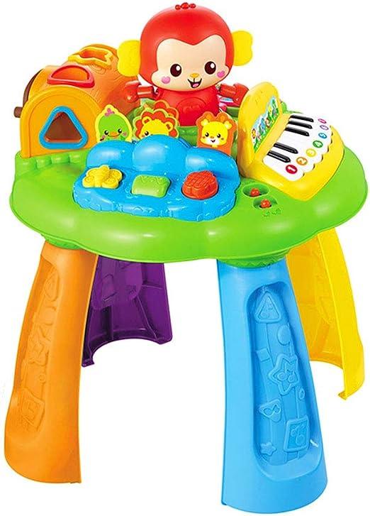 Cajas de música Juego de juguetes para niños Mesa de juego Mono ...