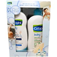 Cetaphil Baby Gift Pack - Baby Skincare Essentials - Paraben, Colourant and Mineral Oil Free