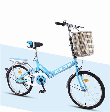 GHH Bicicleta Plegable Urbana Unisex 7 velocidades 20
