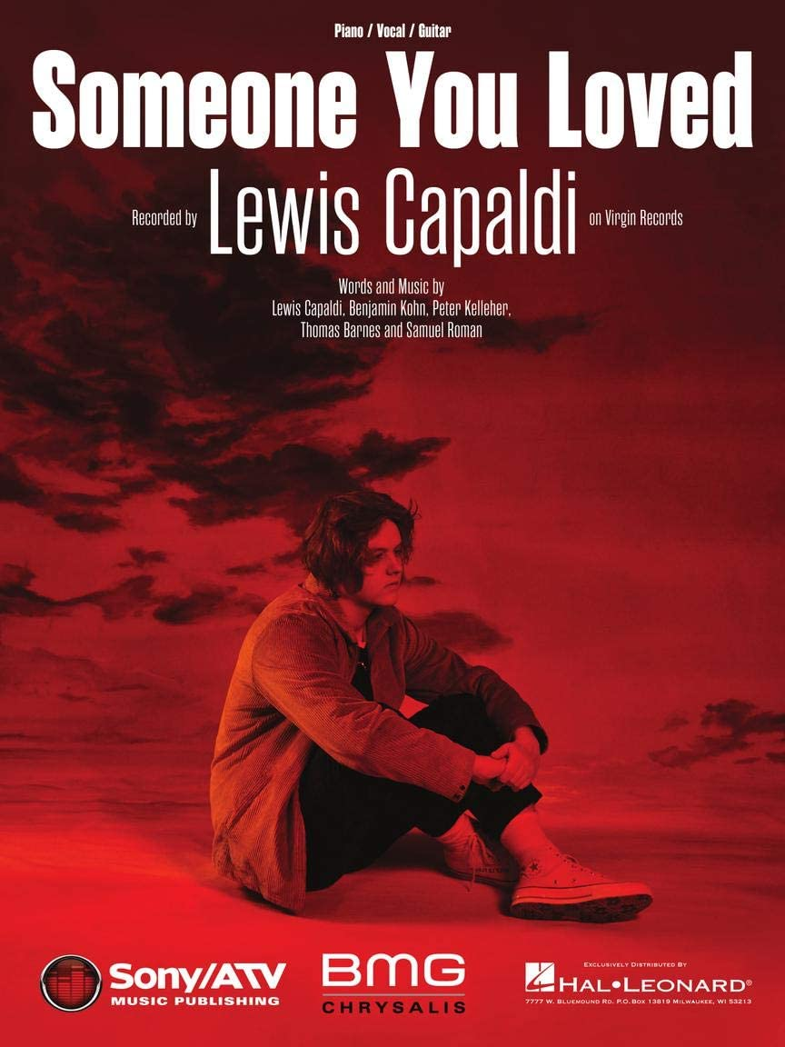 Lewis Capaldi - Someone You Loved - Piano/Vocal/Guitar Sheet Music Single