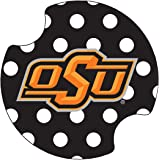 Thirstystone Oklahoma State University Dots Car Cup Holder Coaster, 2-Pack