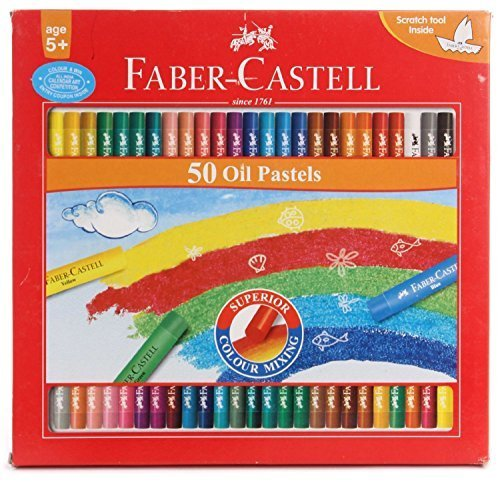 - Faber-castell Oil Pastels Set of 50