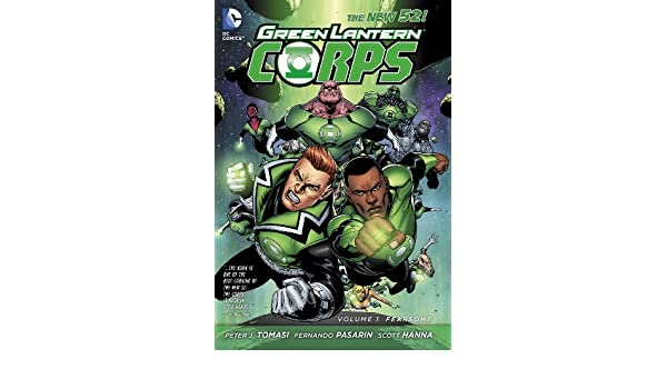 Green Lantern Corps Vol. 1: Fearsome (The New 52) (English ...