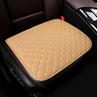 U&M 2pcs Car Interior Seat Cover, Breathable Summer Cool Auto Front Seat Cushion Protector Universal for Most Car, Truck, SUV, Van, Airplane, Office, or Home