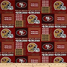 """""""49ers patch"""" Fabric by the Yard (Full Yard)"""