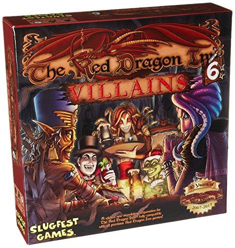 Slugfest Games Red Dragon Inn 6: Villains Board Game (Dragon 2 Red Inn)