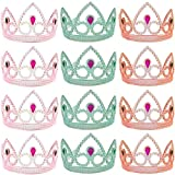 Funny Party Hats Princess Tiara - 12 Pack, Princess Crown, Princess Dress Up - Princess Party Favors
