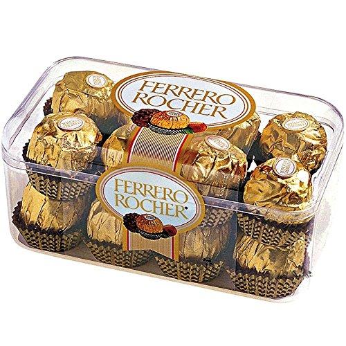 Ferrero Rocher 16 Piece - Imported Swiss Ferrero Rocher 16 Piece Chocolate Gift
