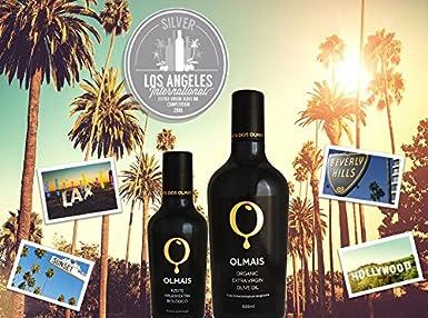 Olmais Aceite de Oliva Virgen Extra Ecológico Premium - 500 ml: Amazon.es: Alimentación y bebidas