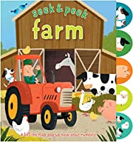 Farm: A lift the flap pop-up book about numbers!