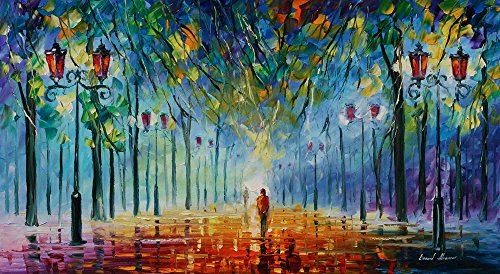 Afremovinexpensive Framed Wall Art Beautiful Paintings For Home By Leonid Afremov Studio The Colors Of Winter Dailymail