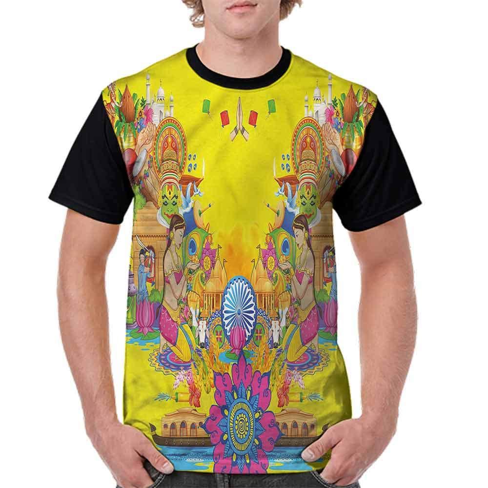 BlountDecor Fashion T-Shirt,Summer Fan Cooler Fashion Personality Customization