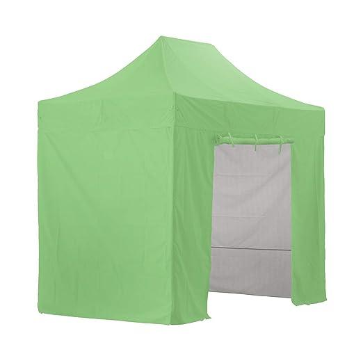 GREADEN - Tienda de campaña plegable verde con 4 paredes ...