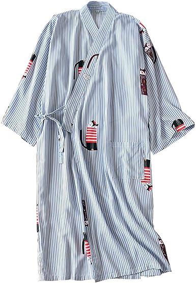 Bata Japonesa para Mujer Kimono Pijamas-Gato: Amazon.es: Ropa y accesorios