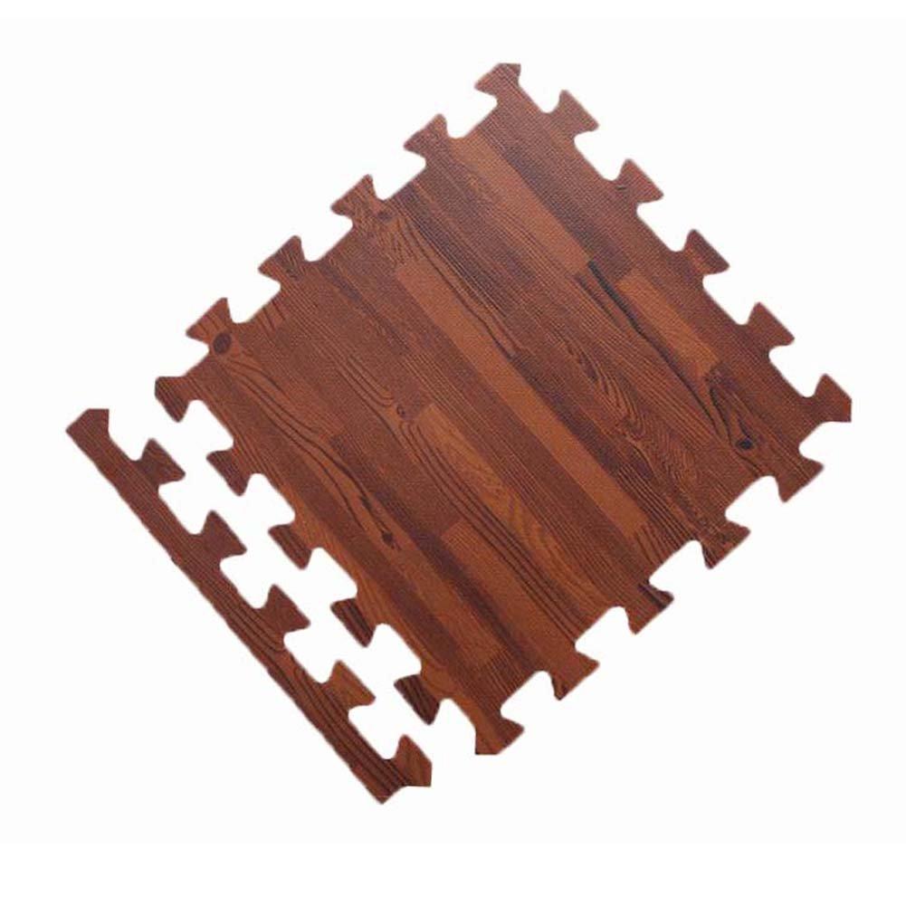 Home Decoration Foam Wood Grain Floor Mat