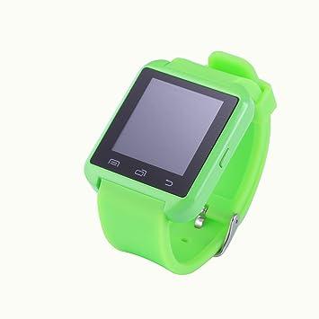 Jambo U8 reloj inteligente Bluetooth 4.0 Reloj Inteligente Reloj de pulsera (verde): Amazon.es: Electrónica