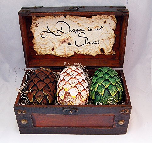 - Game of Thrones Inspired Dragon Egg Small Set