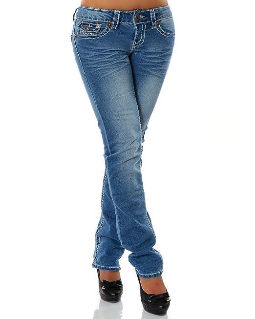 Pantalones vaqueros Straight Leg para mujer (ajuste recto a la ...
