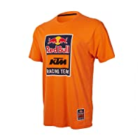 Red Bull KTM Racing Team Logo Tee Herren T-Shirt Orange MotoGp