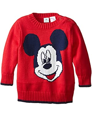 Baby Baby Boys' Mickey Mouse Sweater