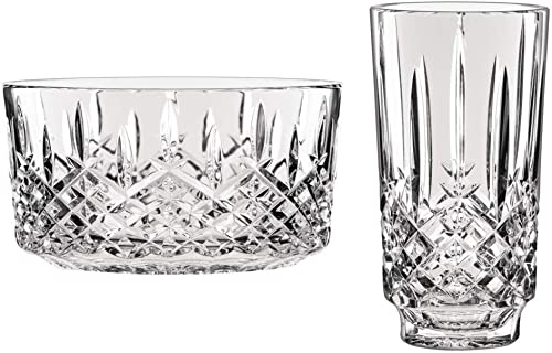 Waterford Markham Bowl and Vase 9 in. 2 Piece Bundle
