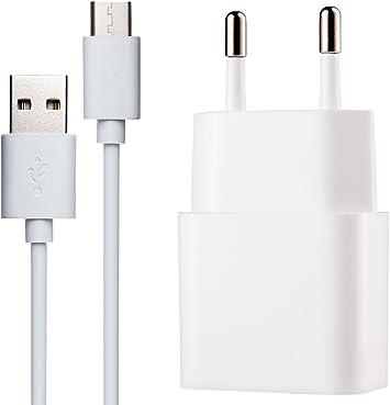 MyGadget USB C Cargador Adaptador (2A / 5V) & Cable (1m) para ...