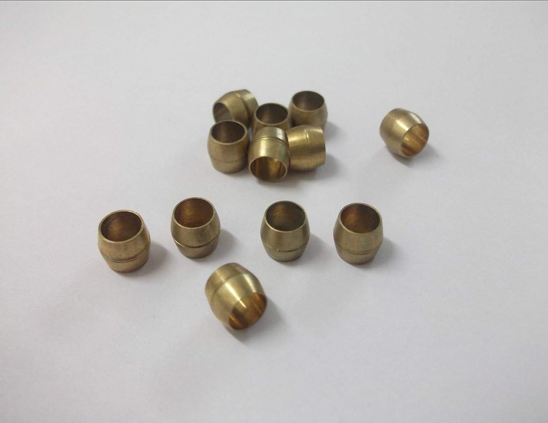 6 x 5 mm lat/ón aceitunas tubo de compresi/ón Grifos m/étricos para fregadero de ba/ño ducha