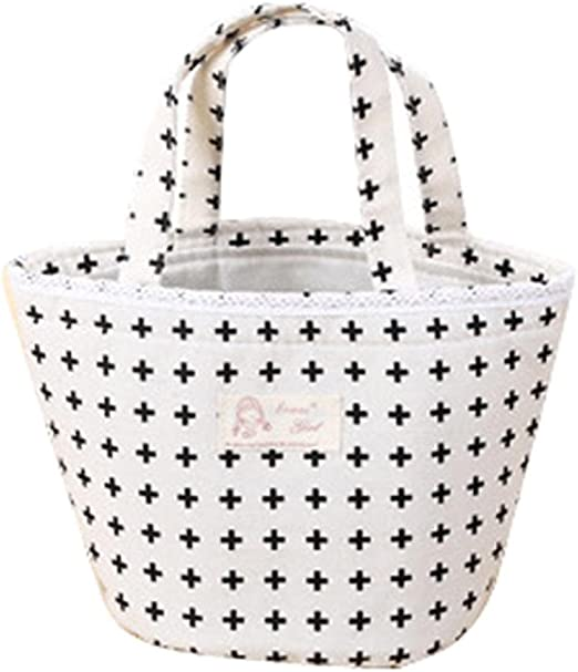 A, 21cm/×17cm Bolsas de almuerzo,Termoaislado almuerzo caja nevera bolsa bolso Bento Bolsa almuerzo contenedor LMMVP