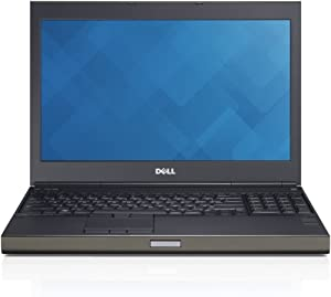 "Dell Precision M4800 15.6"" FHD Ultrapowerful Mobile Workstation Laptop PC, Intel Core i7-4810MQ, 32GB RAM, 1TB Hard Drive, NVIDIA Quadro K2100M, Windows 10 Pro (Renewed)"