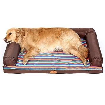 Cama perro Cama Impermeable para Perros para Perros/Gatos / Mascotas, Cachorros indestructibles para perreras/sofá para Perros pequeños/medianos / Grandes, ...