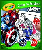 Crayola Avengers Color & Sticker Book, Gift Books for Kids, Age 3, 4, 5, 6