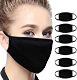 6Pcs Bandana Face Mouth Cover Face Buff Headwear Dust Anti-Pollution Anti-smog, Riding Dustproof Mouth Cover