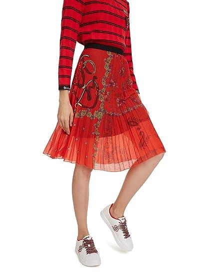Desigual Skirt Andrea Falda para Mujer: Amazon.es: Ropa y accesorios