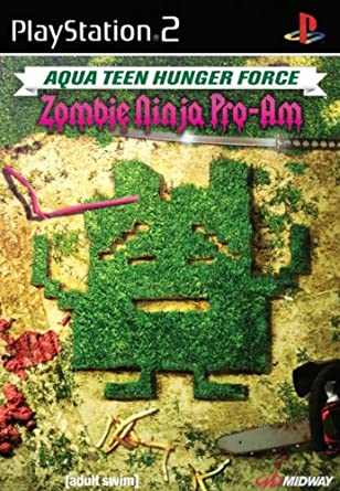 Midway Aqua Teen Hunger Force: Zombie Ninja Pro-Am, PS2 ...