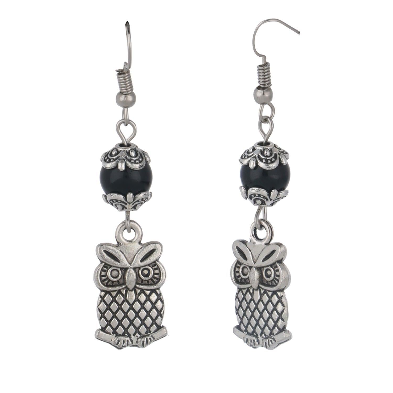 Efulgenz Chandelier Silver Long Tassel Dangle Drop Statement Earrings for Women Girls Bride Bridesmaid