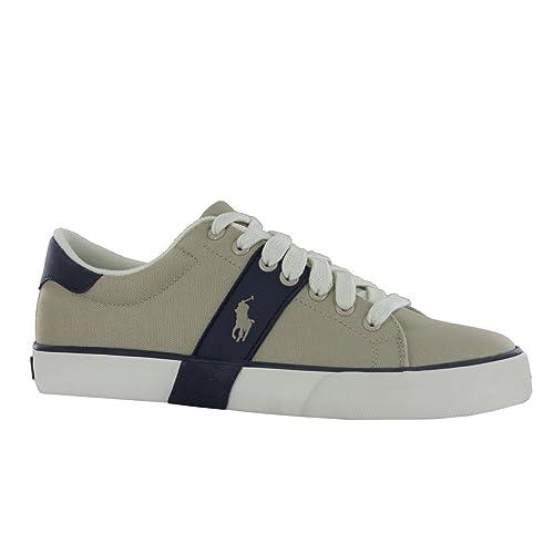 Ralph Lauren - Zapatillas para hombre, color verde, talla 40.5: Amazon.es: Zapatos y complementos