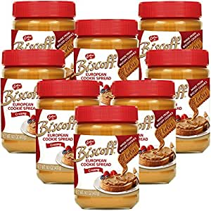 Biscoff Alternative Peanut Butter Spread, 14 Ounce -- 8 per case.