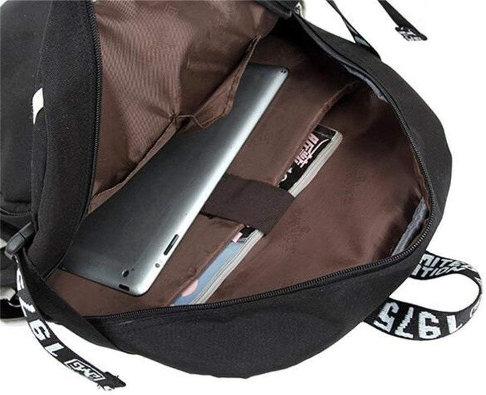 Bungou Stray Dogs Dazai Osamu Ryunosuke Akutagawa Backpack Cosplay Shoulder Bag Laptop Bag 2