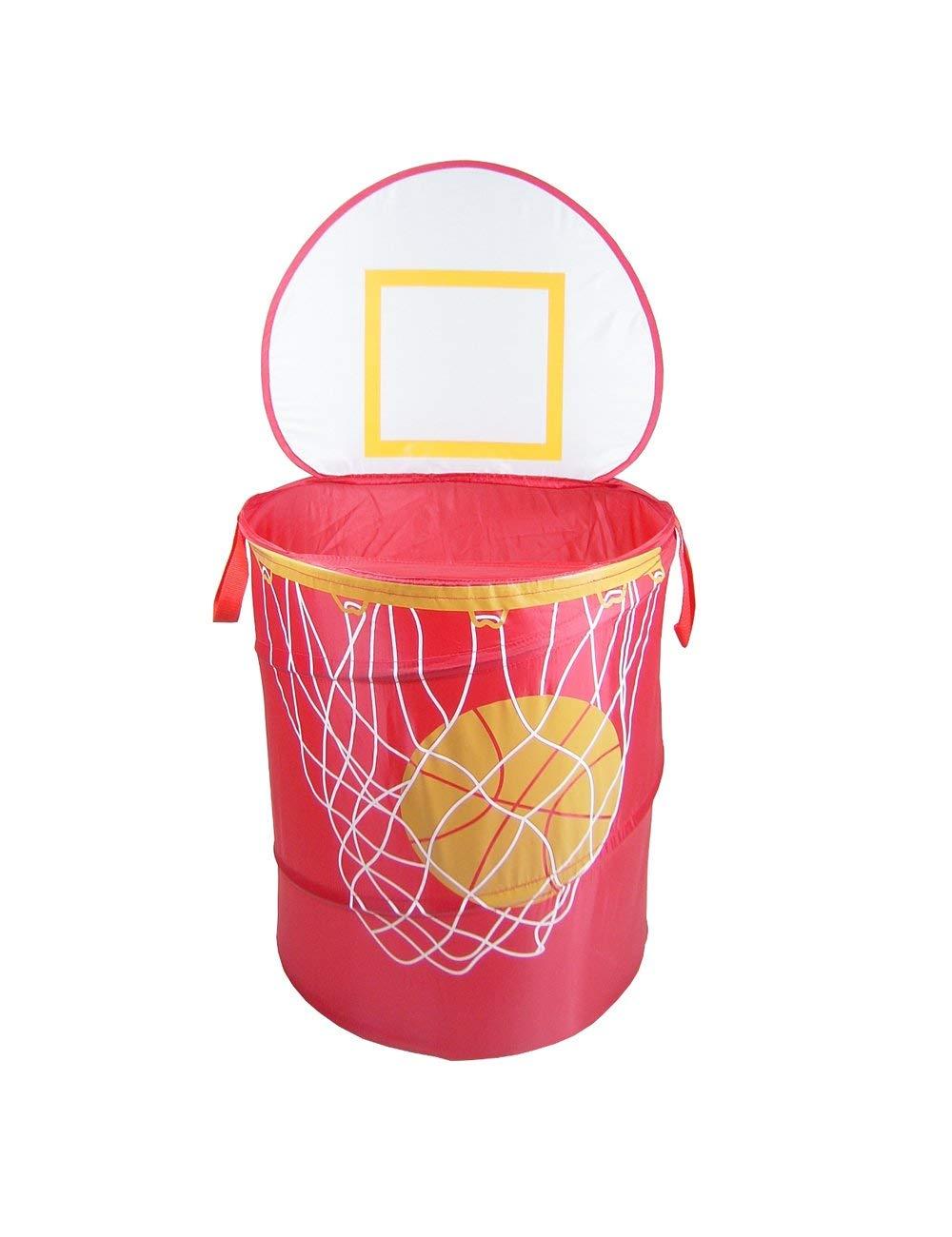RedmonUSA Redmon for Kids Basketball Storage Bag, Red