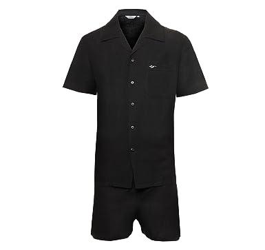 8b354bc0feaf Mens Linen Pyjamas Set Nightwear Sleepwear Classic Tailored Design ...