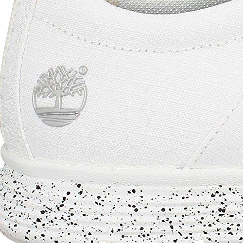 Timberland Hombres Zapatillas de deporte Killington Oxford Blanco - blanco