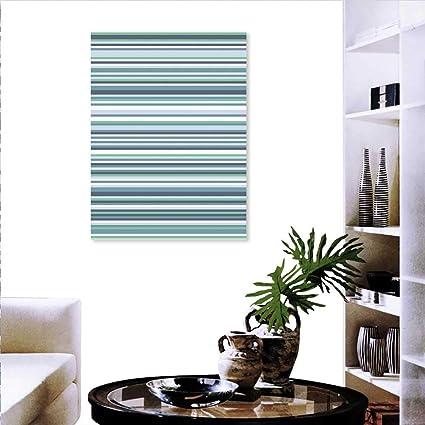 Amazon com: Striped Wall Art Canvas Prints Abstract Narrow