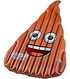 Happy People 16703 - Emoji, Badeinsel Kackhaufen, braun