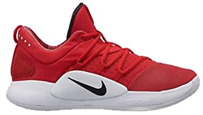 1510ef305a Image Unavailable. Image not available for. Color  Nike Mens Hyperdunk X Low  TB Basketball Shoe University RED Black-White ...