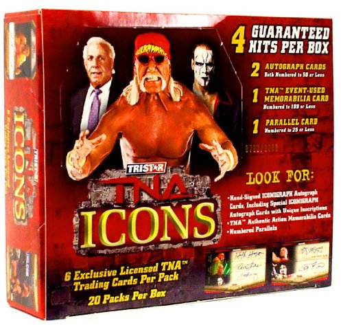 Tristar TNA Wrestling 2010 Icons Trading Cards Booster Box 20 Packs