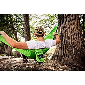 Wild Bears #1 Double Camping Hammock ON SALE | Best Quality Hammocks for 2 Person Lightweight, Portable, Parachute Nylon for Outdoors, Backpacking, Travel, Beach, Hiking, Yard, Garden | 118 x 78 in