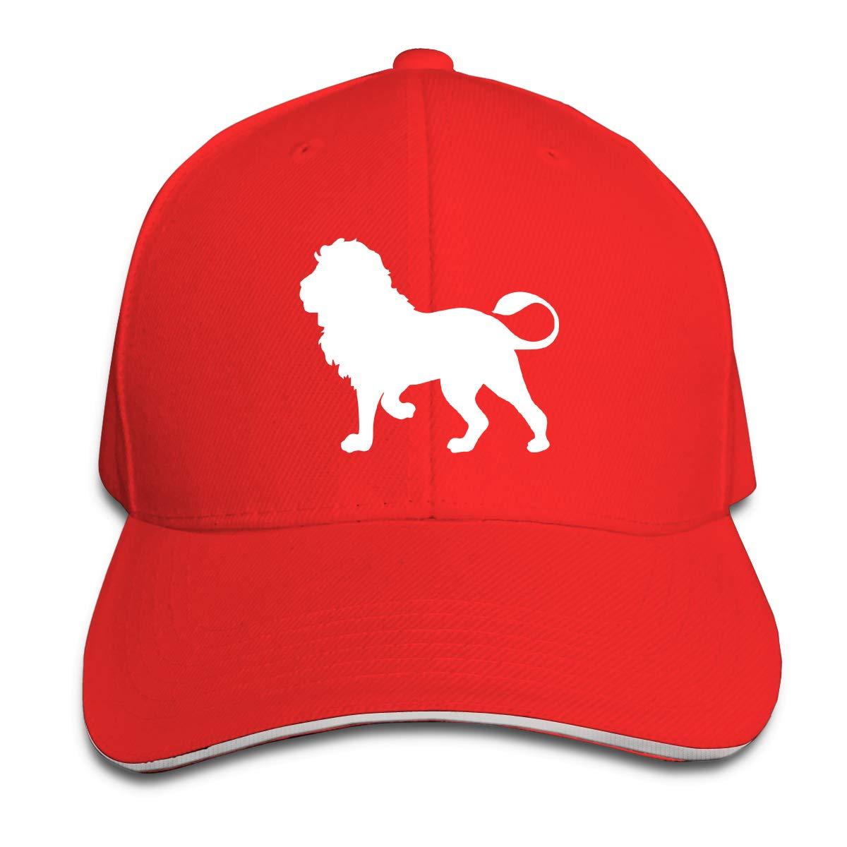 Lion Outdoor Snapback Sandwich Cap Adjustable Baseball Hat Hip Hop Hat