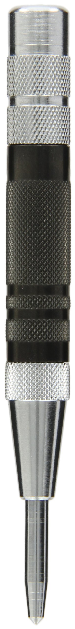 Fowler 52-500-290 Hardened Steel Super Heavy Duty Automatic Center Punch, 6'' Length, 0.625'' Diameter