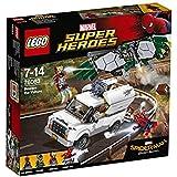 LEGO - 76083 - Marvel Super Heroes - Jeu de Construction - L'attaque aérienne de Vautour