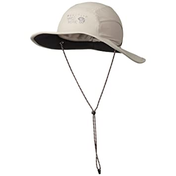 05f95c71f399e Mountain Hardwear Chiller Wide Brim Hat Bone Regular  Amazon.ca ...